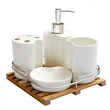 Silver Bathroom Accessories Sets by Top 25 Best Bamboo Bathroom Accessories Ideas On Pinterest