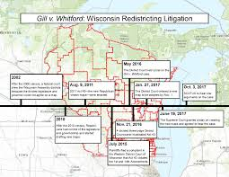 Timeline Maps Wisconsin Redistricting Brief Filed With Scotus Hamilton