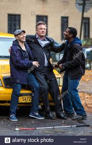 The Movie Blind Alec Baldwin And Demi Moore On The Set Of Their New Movie U0027blind