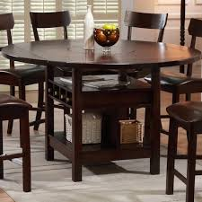 Lazy Susan Dining Room Table Counter Table With Lazy Susan Walker S Furniture Pub