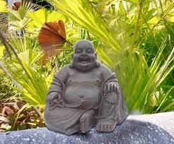 amazon com hi line gift ltd happy sitting buddha statue 165