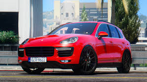 Porsche Cayenne Rims - 2016 porsche cayenne turbo s add on replace gta5 mods com