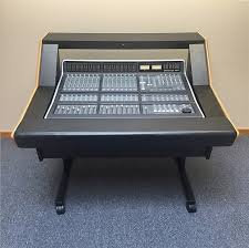 Argosy Console Desk Used Solid State Logic Matrix 16 Channel Console With Argosy Reverb