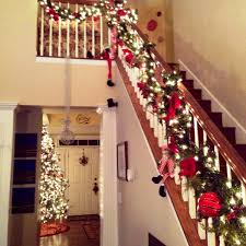 house decoration for christmas stairs home and house decor