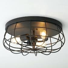 close to ceiling light fixtures low ceiling lighting industrial cage ceiling light reminiscent of