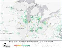 Zip Code Map Kansas City by Rocky Mountain Region Leads U S Job Growth Isea
