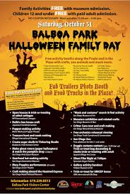 balboa park halloween family day u2013 in the park