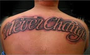 lettering back tattoo designs page 10