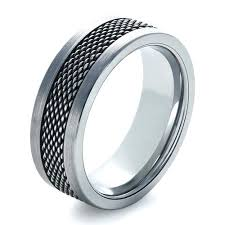 steel rings images Men 39 s tungsten and stainless steel ring 1335 jpg