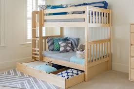 Bunk Bed Tidy The Solid Wood Bunk Bed With Ladder Maxtrix