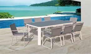 salon jardin 8 personnes table et fauteuil de jardin design haut de gamme 8 personnes