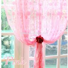 String Tassel Curtains Romantic Pink Tassel Line String Curtain Elegant Drapes Curtains