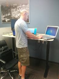 Ikea Sit Stand Desk To Sit Or Stand That Is The Question Ikea Sit Stand Desk Review