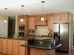one wall kitchen with rectangular kitchen island u2014 smith design