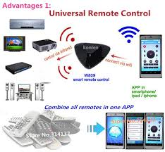 universal ceiling fan remote app 2018 android ios smart home automation universal remote control wifi