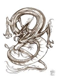 chinese dragon comission by fabiometalcore on deviantart