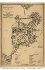 Boston Map Usa by Old Maps Of Boston