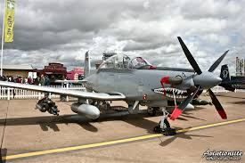 at 6 light attack aircraft the mighty air tractor at 802u air truck ground attack version