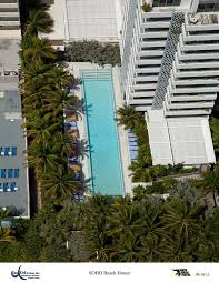 stylish swimming pools at soho beach house in miami van kirk pools