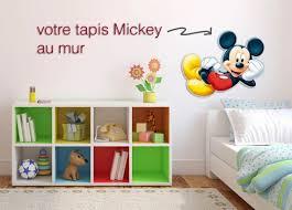 chambre enfant mickey tapis mickey mouse tapis disney enfant 80x50cm monbeautapis com
