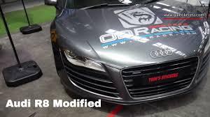 audi r8 modified audi r8 modified exterior walkaround galeri kereta youtube