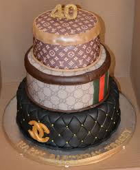 3 Tiered Halloween Cakes Chanel Gucci And Louis Vuitton 3 Tier Cake Cakecentral Com