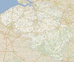map and belgium road map of belgium size