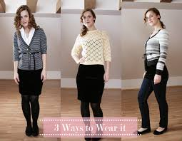casual pencil skirt wardrobe reinvention 3 casual ways to wear a jersey pencil skirt