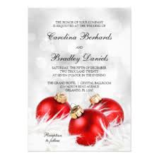 christmas wedding invitations u0026 announcements zazzle
