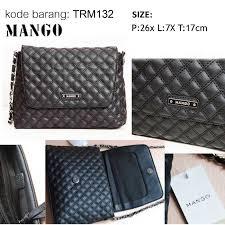 Tas Mango mango mng 篏 tas mango casual sling bag trm132 窶 tas fashion tas