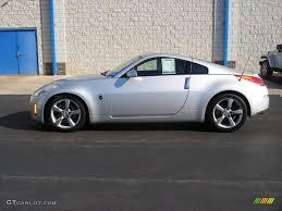 nissan coupe 2006 silver alloy metallic 2006 nissan 350z touring coupe exterior