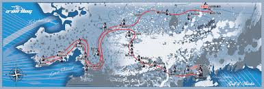 Nome Alaska Map by Iron Dog Race Iron Dog Race Route
