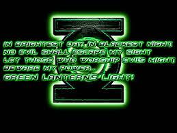 green lantern neon light green lanterns oath beware my power hd youtube