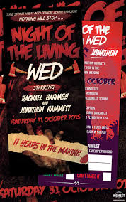 halloween wedding invitations wedfest