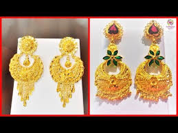 gold jhumka earrings design with price gold jhumka earrings designs with weight price 22k