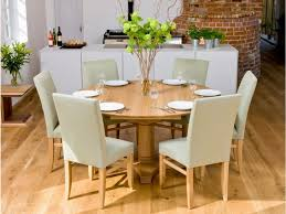 solid oak table with 6 chairs solid wood round dining table with chairs home decor pictures room