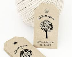Thank You Tags Wedding Favors Templates by Etsy Your Place To Buy And Sell All Things Handmade