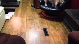 hardwood floors are done rv living