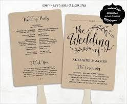 wedding day programs 27 best wedding marlinandsam images on