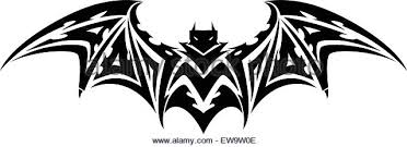 flying bat tattoo stock photos u0026 flying bat tattoo stock images