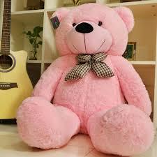 big teddy 47 pink teddy stuffed great gift