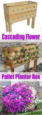 diy planters 15 diy garden planter ideas using wood pallets hative
