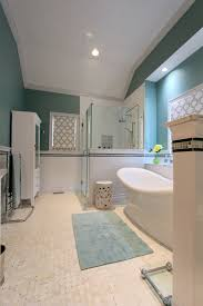 Transitional Decorating Style Photos - remarkable basket weave tile ceramic decorating ideas images in