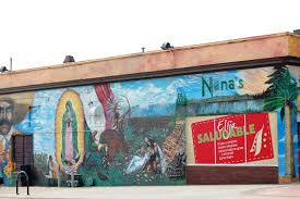 wall mural in the little mexico section of omaha nebraska