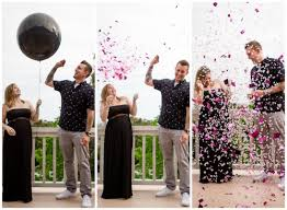 why doing a gender reveal is totally worth it confetti balloons