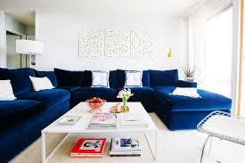 Navy Sectional Sofa Navy Blue Sectional Sofa Design Options Homesfeed