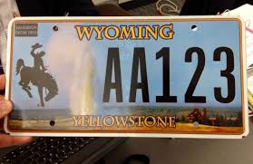 House Plate Effort To Create Yellowstone License Plate Voted Down In Wyoming