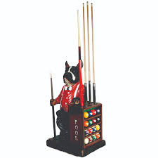 dog ball and pool cue rack billiard cue racks the great escape