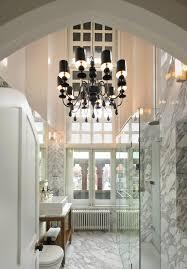 elegant french candle chandelier for bathroom lighting decor