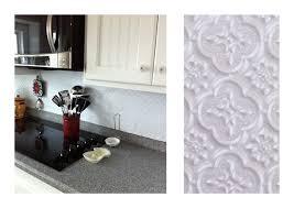faux tin kitchen backsplash backsplash tin cintinel com